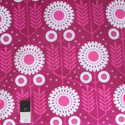 Joel Dewberry PWJD121 Wander Prairie Bloom Rosetta Cotton Fabric By Yd