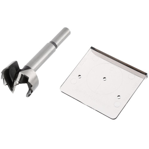 AN0192C-G Align Right Cabinet Hinge Installation Template Set w/ Drill Bit
