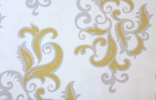 Vicki Payne HDVP09 For Your Home Swirls Olive Home Dec Fabric By Yd