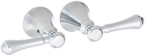 Delta Faucet H297 Cassidy Two Lever Bath Faucet/Bidet Handle Kit Chrome Finish