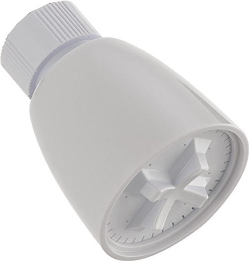 Delta 76187WH Single-Setting Shower Head, White Finish