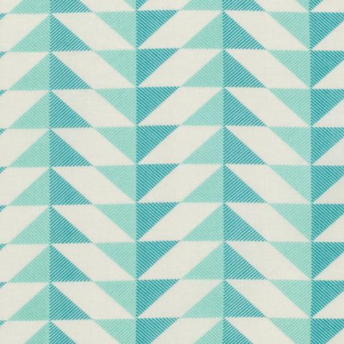 Joel Dewberry PWJD142 Modernist Arrowhead Aegean Cotton Quilting Fabric By Yard