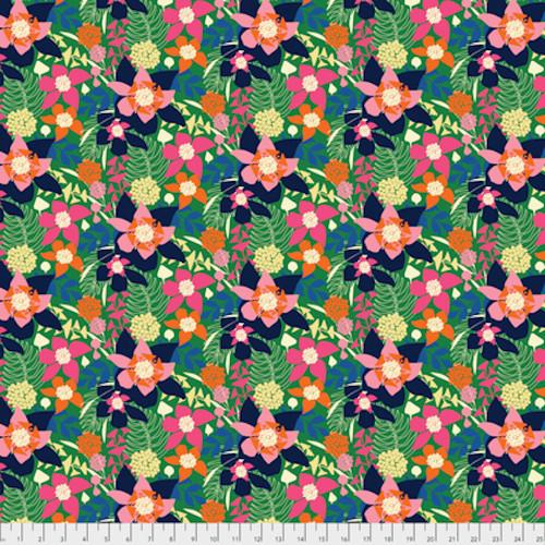 Amy Reber PWAR009 Jitterbug Chelsea Jessamine Cotton Fabric By Yd