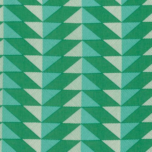 Joel Dewberry PWJD142 Modernist Arrowhead Emerald Cotton Fabric By Yard