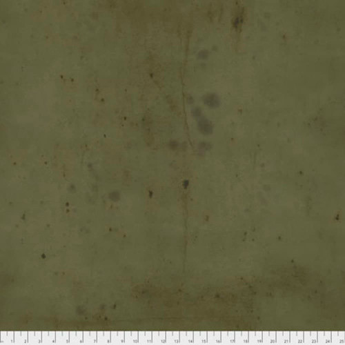 Tim Holtz PWTH115 Provisions Moss Cotton Fabric By Yard