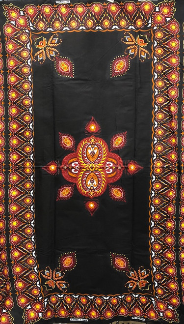 Genuine African Printex Safari Collection #PX1009344 Cotton Fabric By The Panel
