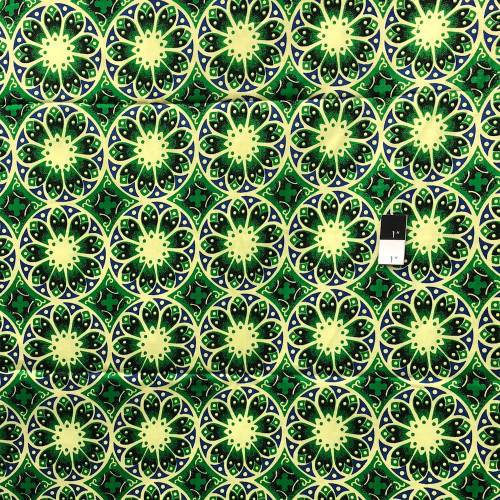 Genuine African Printex Arate Collection S-50021 Cotton Fabric By The Yard