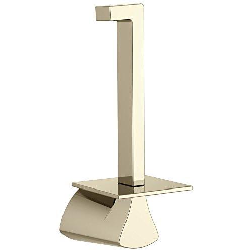 Delta 774505-PN Zura Bath Vertical Toilet Paper Holder Polished Nickel Finish