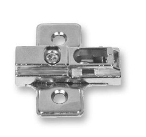H71014-NP 2mm Mounting Plate for 35mm Hinge Nickel Plate Set of 2