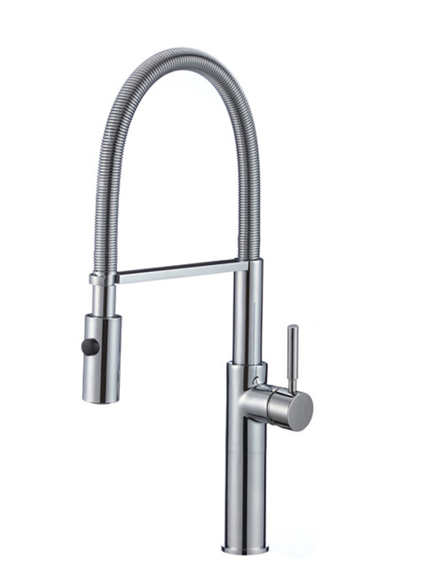 FBX Elam 82H38-BN Madison Kitchen Pull Out Spray Faucet Brushed Nickel Finish