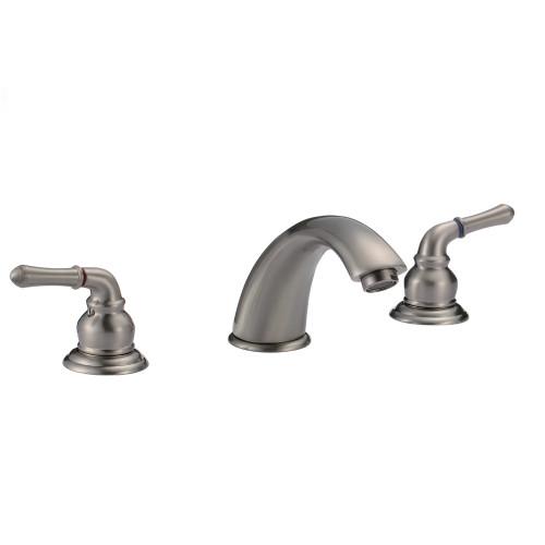 FBX Merritt 83H03-BN Bath 2 Handle Widespread Faucet Brushed Nickel
