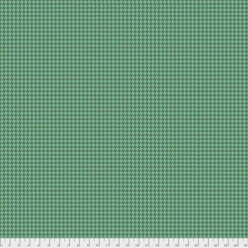Joel Dewberry Avalon PWJD156 Houndstooth Turquoise Cotton Fabric By Yd