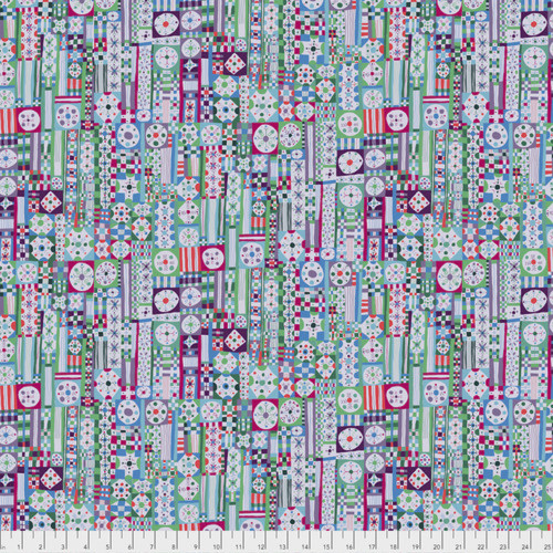 Monika Forsberg PWMF001 Savernake Road Court Hope Julep Cotton Fabric By Yd