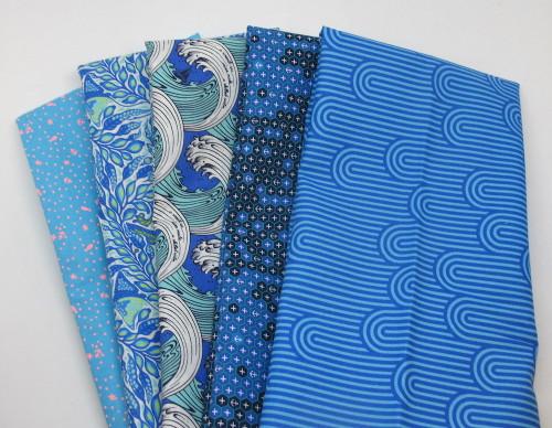 Tula Pink Assortment HYB1064 Cotton Fabric Half Yard Bundle