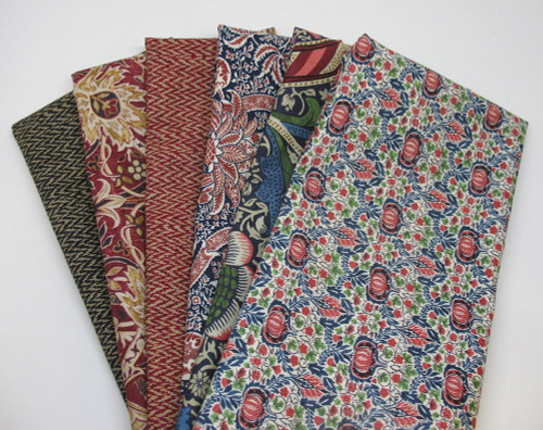 Morris & Co. HYB1074 Cotton Fabric Remnant Packs