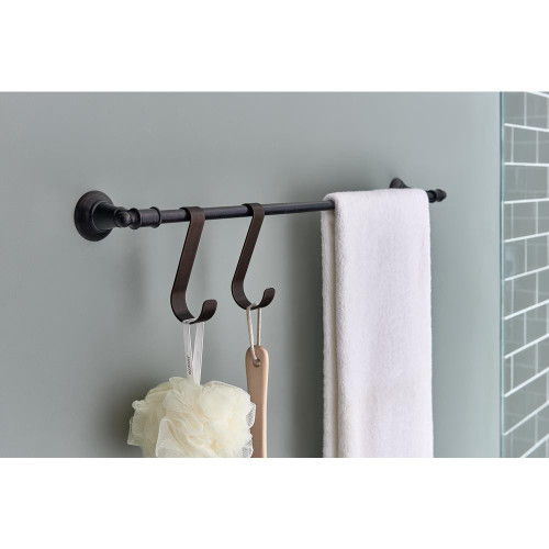 Delta Over-the-Towel Bar Hooks in Venetian Bronze (2-Pack)
