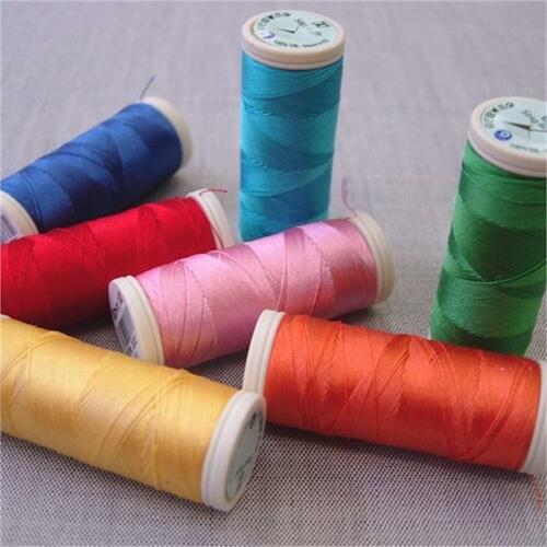 Seta Reale 100% Silk Sewing & Embroidery Thread #7900 White 87 yd