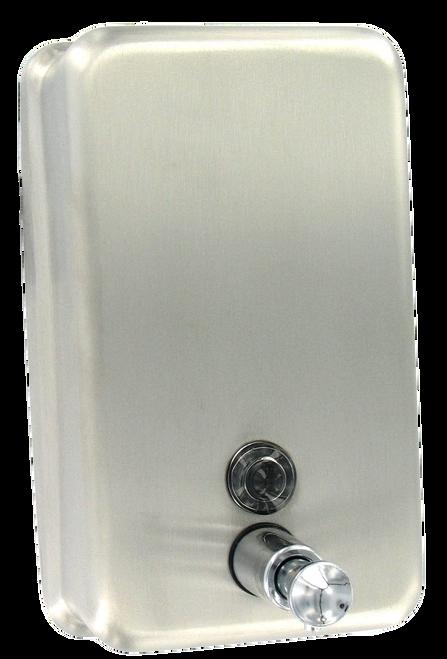Bath Unlimited 1920 Commercial Surface-Mount Vertical Liquid Soap Dispenser