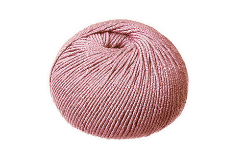 CleckHeaton Merino Super Fine 8 Ply Knitting & Crochet Yarn, Old Rose