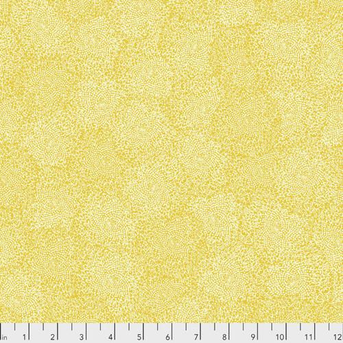 Valori Wells PWVW007 Murmur Centers Gold Cotton Fabric By Yard