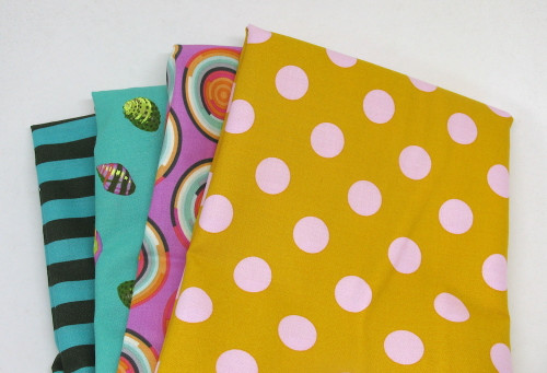 Tula Pink Assortment RP3632 Cotton Fabric Remnant Pack