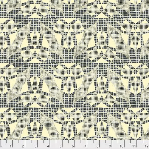 Amy Butler Natural Beauty CPAB018 Spider Web Bone Cotton Fabric By Yard