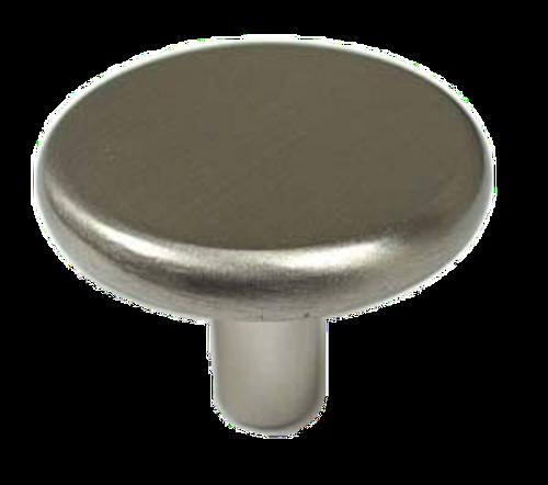 """Liberty 085-03-1447 Atlantis 1 1//4/"""" White /& Satin Nickel Cabinet Drawer Knob"""