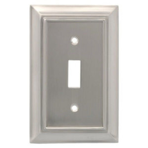 Franklin Brass 171908 Satin Nickel Architect Single Switch Cover Plate