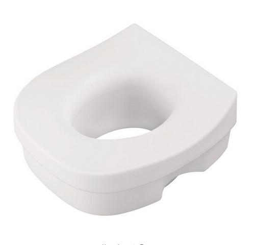 Delta DF570 Elevated Toilet Seat White