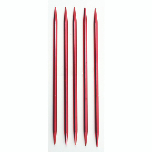 Susan Bates 5 Pack Silvalume Double Pointed Knitting Needles, U.S. 11 (8.00mm)