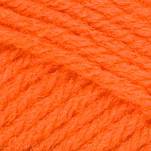 Red Heart Classic Tangerine Acrylic 4 Ply Knitting & Crochet Yarn