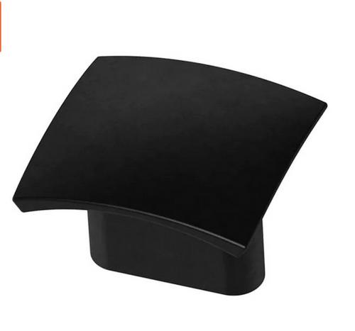 "Liberty P39232C-FB 1-15/16""  Flat Black Concave Cabinet Drawer Pull"