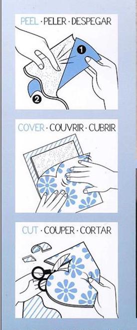 Coats PHOOMPH Adhesive Fabric Bonding Sheets 7 Piece Assortment