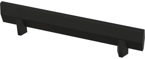"Liberty P40849K-FB 3 3/4"" Gathered Blade Cabinet Drawer Pull Matte Black 10 Pack"