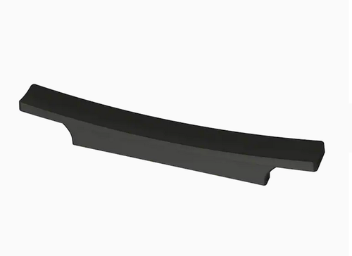Brainerd P42243W-FB Flat Black Flared Square Dual Mount Cabinet & Drawer Pull