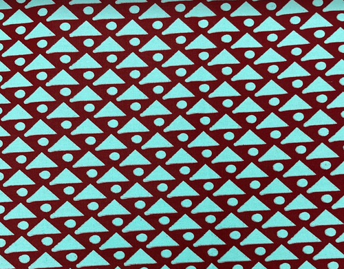 African Traditional Wax Print 27051 Teal Cotton Fabric By The Yard