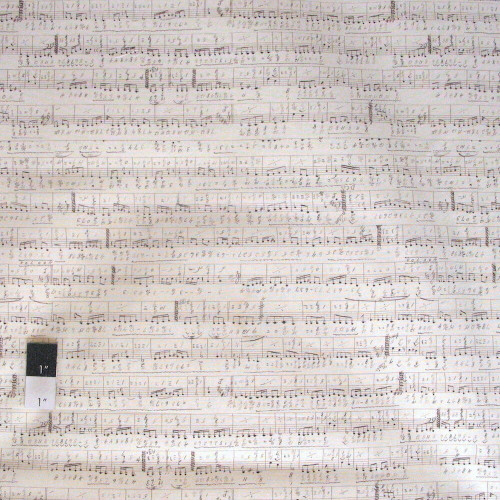 Tim Holtz PWTH022 The Symphony Neutral Cotton Fabric By The 8 Yard Bolt