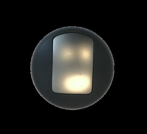 """Brainerd 112447 Expresso 3"""" Round Hook Matte Nickel & Black Finish"""