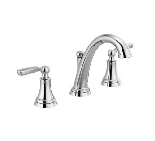 "Delta 3532LF-MPU Woodhurst Polished Chrome 8"" Widespread Bath Faucet"