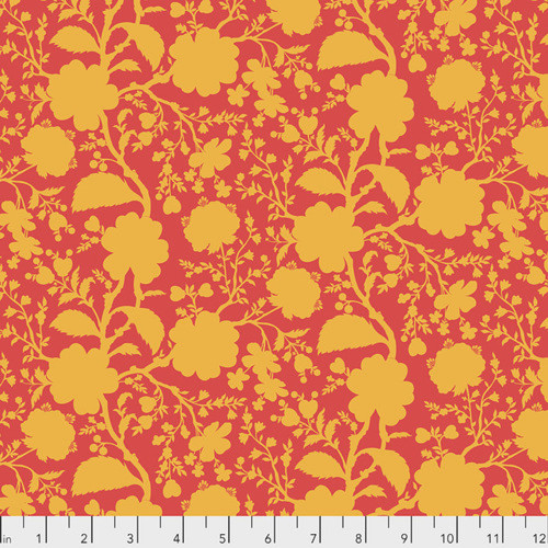 Tula Pink PWTP149 All Stars Wildflowers Snapdragon Cotton Fabric By Yard