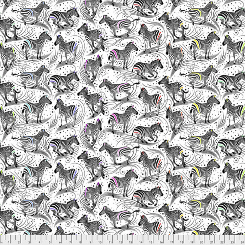 Free Spirit Tula Pink PWTP156 Linework Read Between The Lines Paper Cotton Fabric By Yd