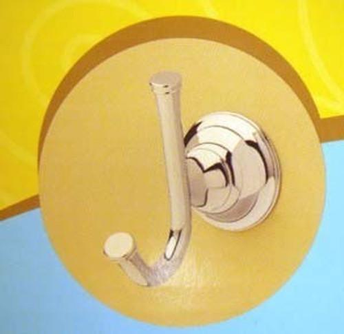 123081 Palladium Bath Robe Hook Chrome Finish