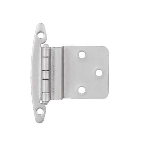 """H00930C-SN 3/8"""" Self Closing Inset Hinge W/O Spring Satin Nickel 2 Pack"""