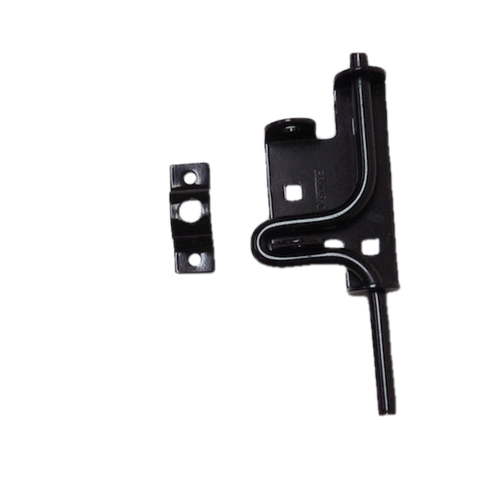 B3200 Gate Hardware Slide Action Bolt Black