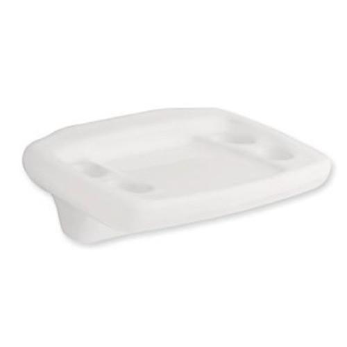 D8005W Franklin Brass Tuscan Bath Toothbrush & Tumbler Holder White Ceramic