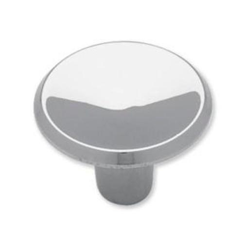 "P65010C-CHR Polished Chrome Concave Design 1"" Cabinet Drawer Knob"
