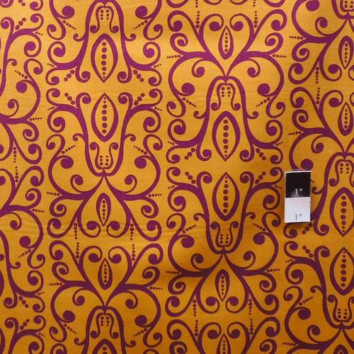 Valori Wells PWVW041 Karavan Savannah Curry Cotton Fabric By The Yard