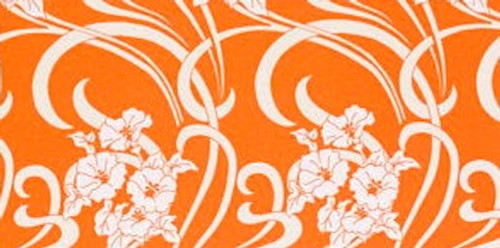 Amy Butler HDABS11 Home Dec August Fields Graceful Vine Orange By Yd