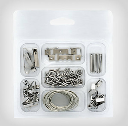 159661 42 Piece Picture Hanger Kit
