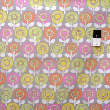 Erin Mcmorris Pwem066 Palermo Adela Smoke Cotton Fabric By